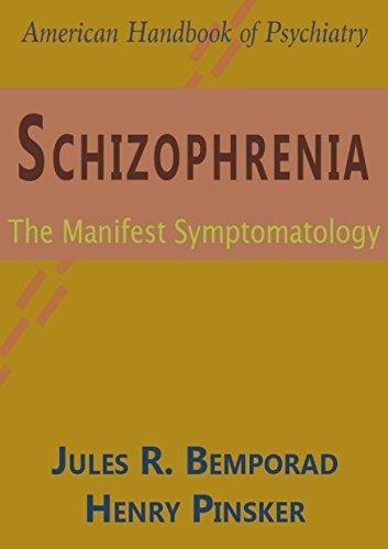 schizophrenia-manifest-symptomatology