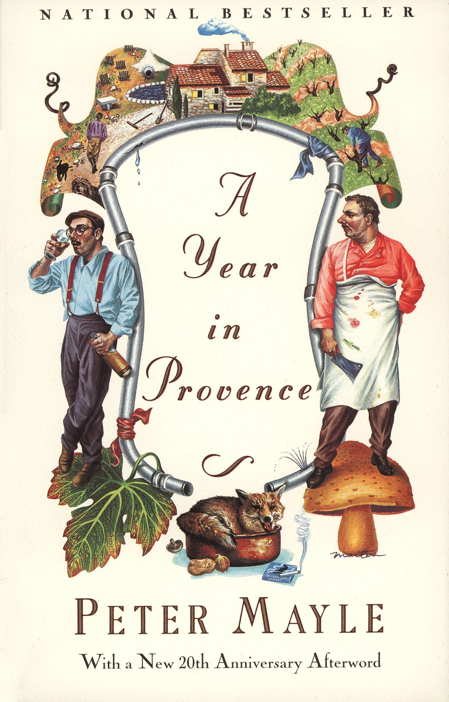 A Year In Provence by Mayle Peter