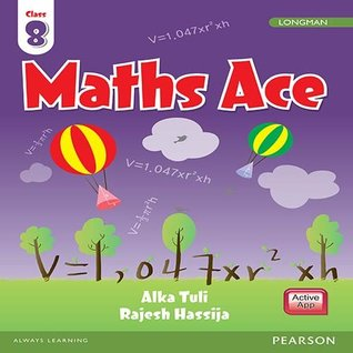 Maths Ace by Pearson for CBSE Class 8