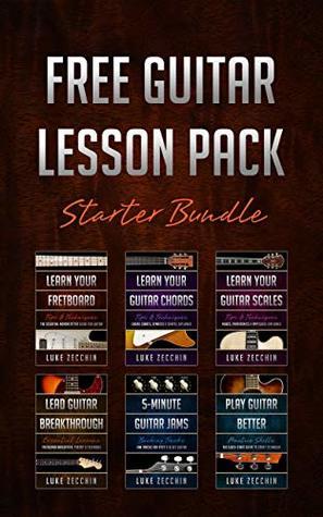 Free Guitar Lesson Pack: Starter Bundle (Book + Online Bonus)