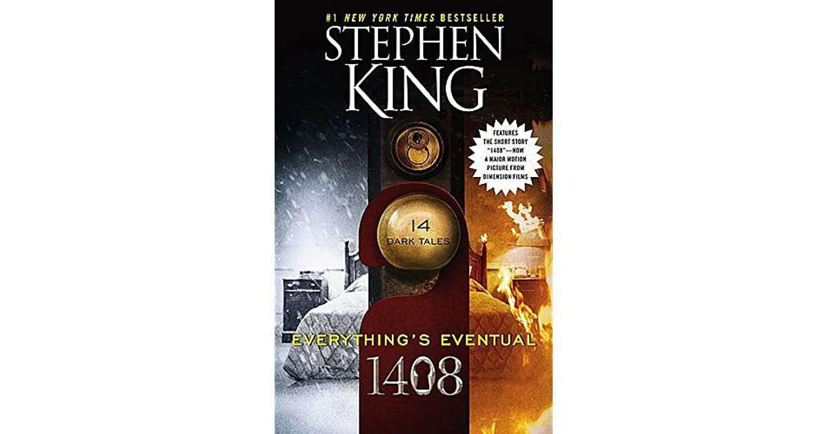 Stephen King 1408 Book