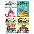 M.C. Beaton Agatha Raisin Series 4 Books Bundle Collection