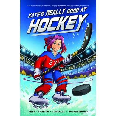 Image result for kate's really good at hockey
