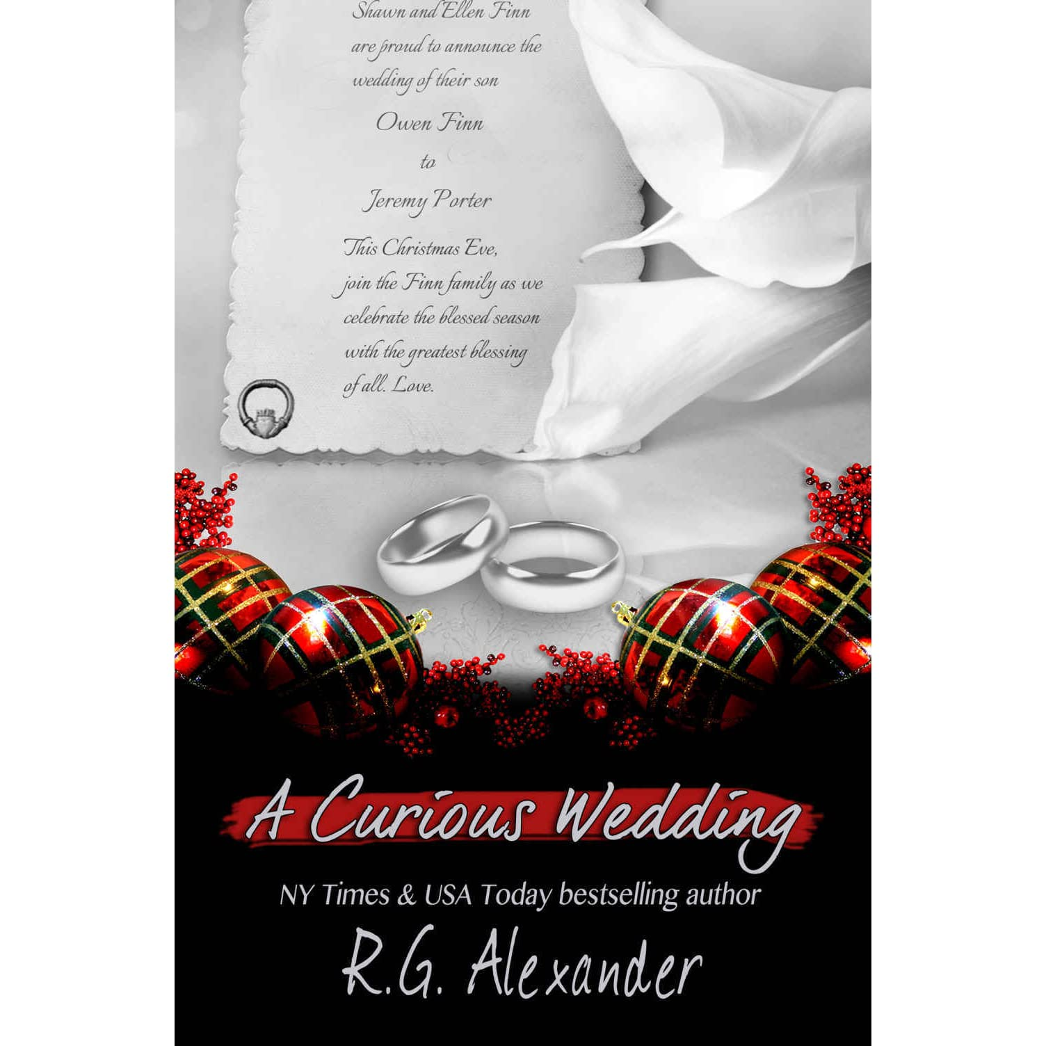 A Curious Wedding (The Finn Factor #5) by R.G. Alexander