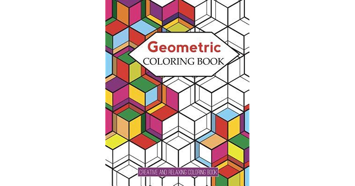 Geometric Coloring Books: Designs with Geometric and Patterns ...