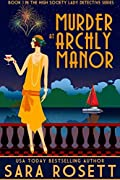 Murder at Archly Manor (High Society Lady Detective #1)