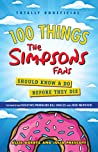 100 Things The Simpsons Fans Should Know  Do Before They Die