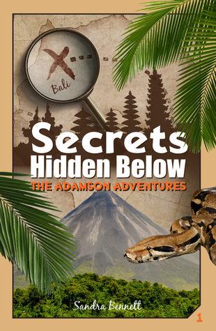 Secrets Hidden Below (The Adamson Adventures, #1)