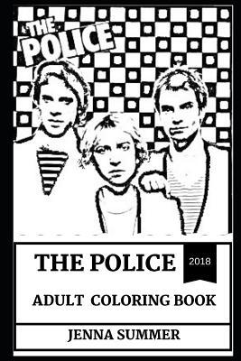 The Police Adult Coloring Book: Legendary Sting and New Wave ...