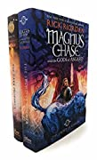 Rick Riordon Deluxe 2 Books Collection Set (Magnus Chase And The Gods Of Asgard, The Trials Of Apollo