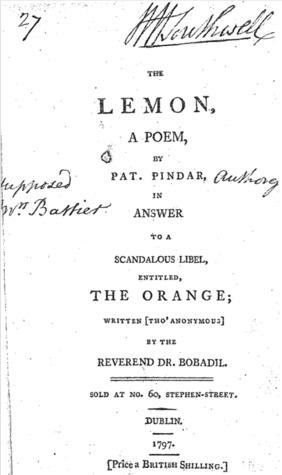 The Lemon, A Poem by Henrietta Battier