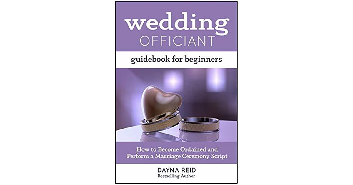 Wedding Officiant Guidebook For Beginners How To Become