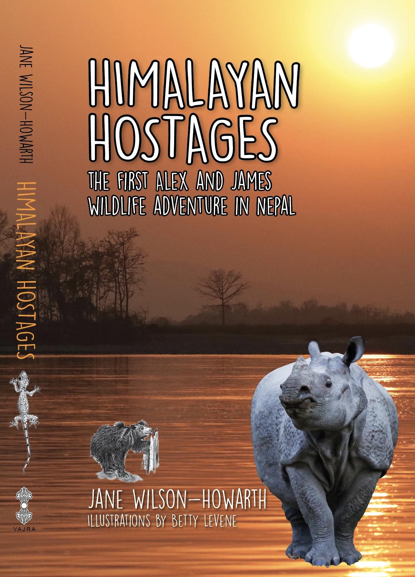 Himalayan Hostages (Alex and James Wildlife Adventure, #1)