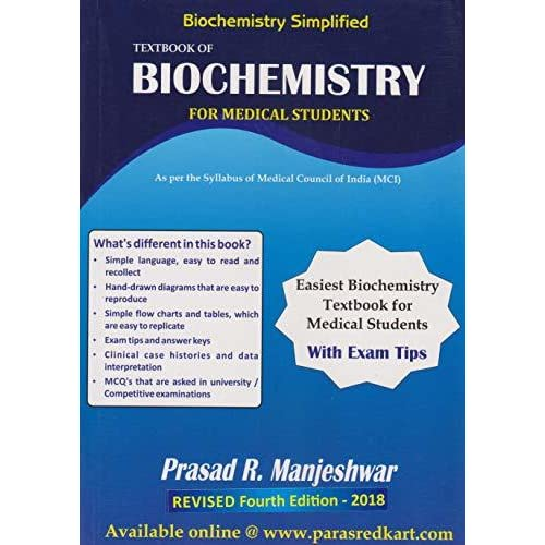 Biochemistry Simplified Textbook of Biochemistry for Medical