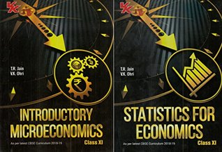 Statistics for Economics and Introductory Microeconomics (Set of 2 Books) Class - 11 CBSE-2018