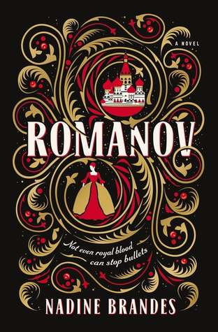 "Cover of Nadine Brandes' ""Romanov"""