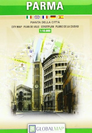 City Map Of Italy In English.Parma Italy City Map By Litografia Artistica Cartografica Lac