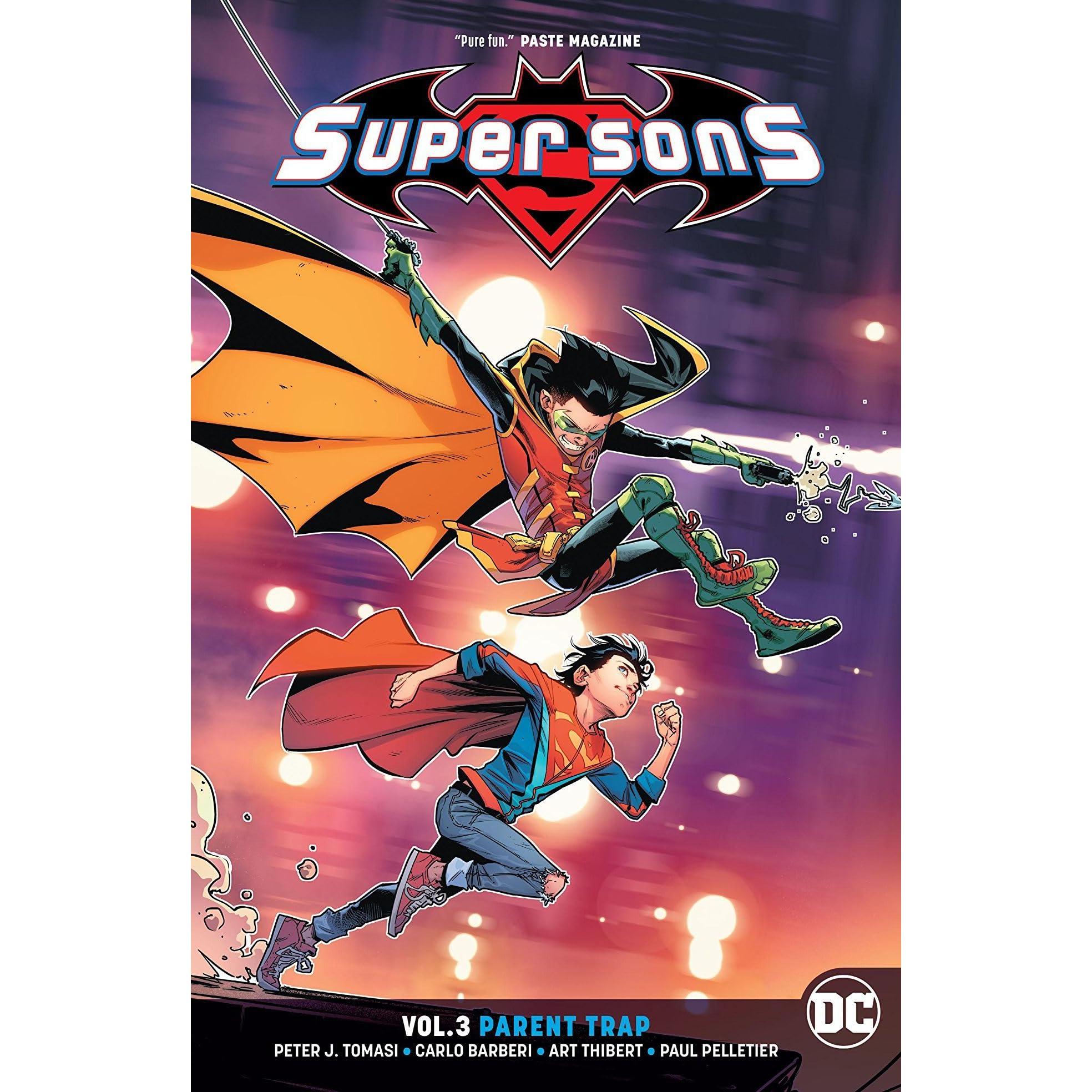 Super Sons, Volume 3: Parent Trap by Peter J  Tomasi