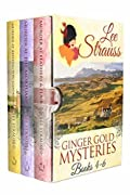 3 Ginger Gold Mysteries Books 4-6: Cozy Historical Mysteries