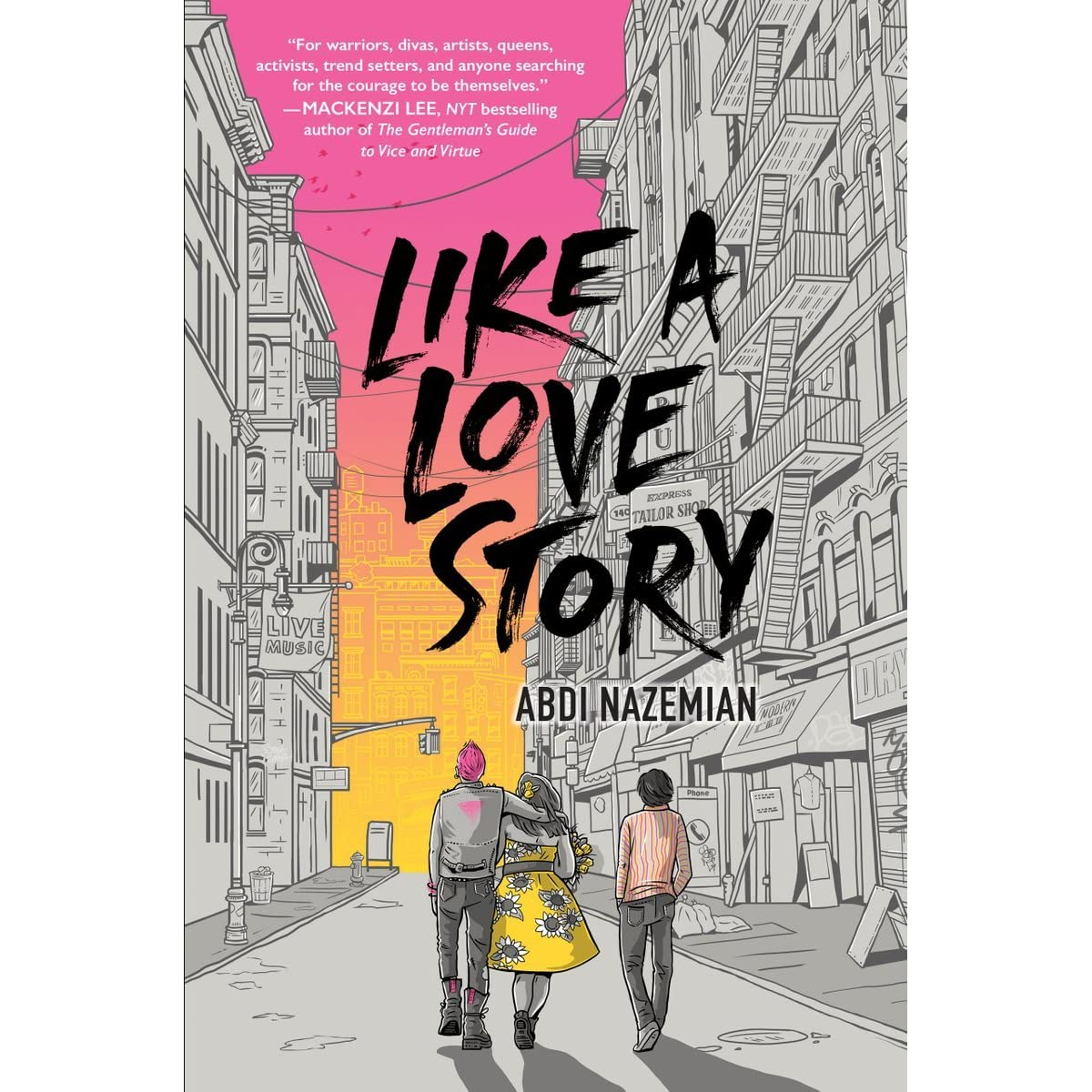Image result for Like a Love Story by Abdi Nazemian