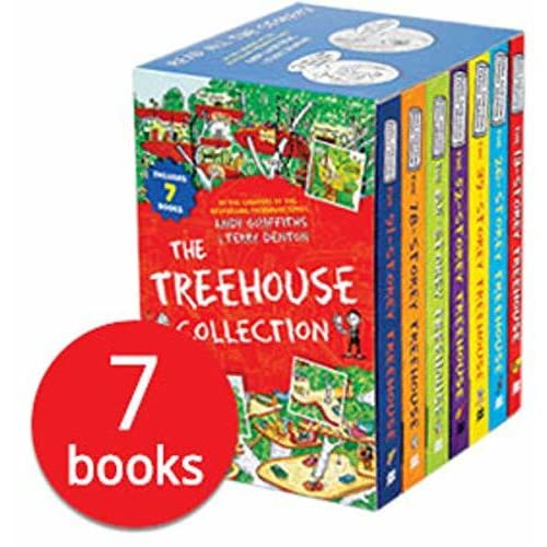The 13 Storey Treehouse Collection - 7 Books by Andy Griffiths