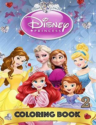 Disney Princess Coloring Book ( Jumbo Book 168 Illustrations
