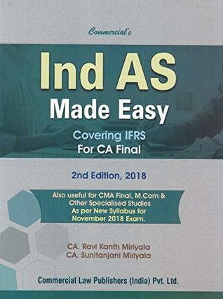 Commercial's Ind AS Made Easy Covering IFRS for CA Final 2nd