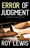 Error of Judgment (Inspector John Crow #2)