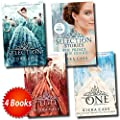 The Selection Collection Kiera Cass 4 Books Set (The Prince and The Guard, The One, The Selection, The Elite)
