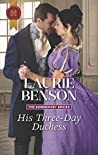 His Three-Day Duchess (The Sommersby Brides #2)