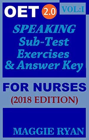 OET Speaking For Nurses by Maggie Ryan: Updated 2018 OET 2 0, Book