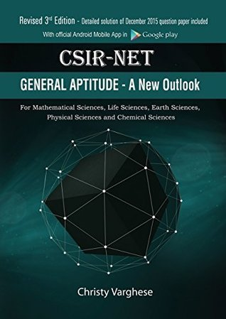 CSIR-NET General Aptitude - A New Outlook by Christy Varghese