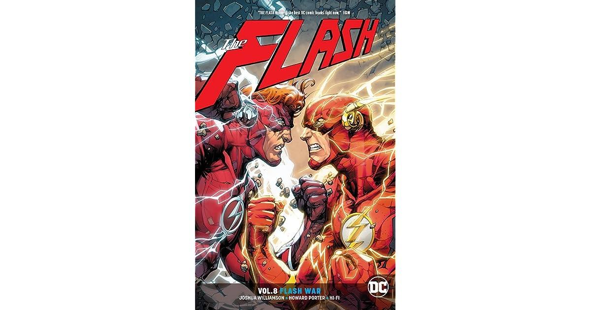 bcaed452ab8 The Flash, Volume 8: Flash War by Joshua Williamson