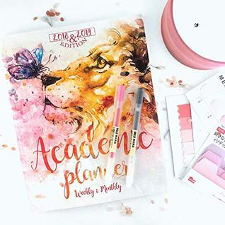 2018-2019 Limited Edition Aslan Academic Planner: Best Daily, Weekly, and Monthly Agenda - Organizer - Calendar - Journal for Productivity, Time Management and Peace of Mind