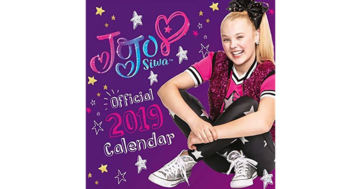 Jojo Siwa Official 2019 Calendar Square Wall Calendar Format By