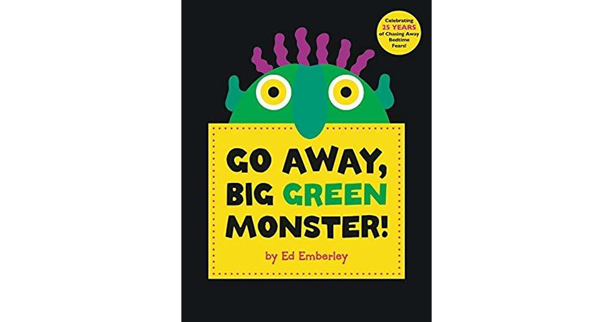 photograph relating to Go Away Big Green Monster Printable Book identify Move Absent, Large Environmentally friendly Monster! via Ed Emberley