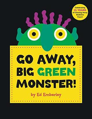 image regarding Go Away Big Green Monster Printable Book referred to as Shift Absent, Large Inexperienced Monster! via Ed Emberley