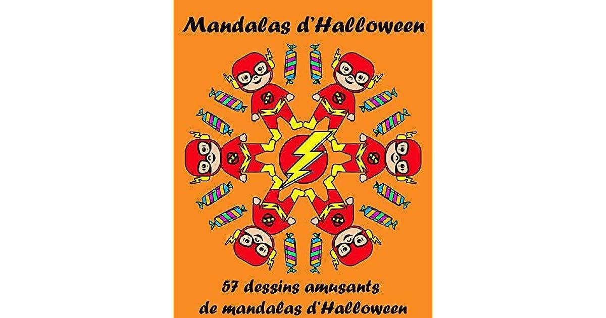 Mandalas D Halloween 57 Dessins Amusants De Mandalas D Halloween