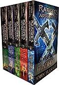 John Flanagan Rangers Apprentice Series 2 Collection Set 5 Books Set