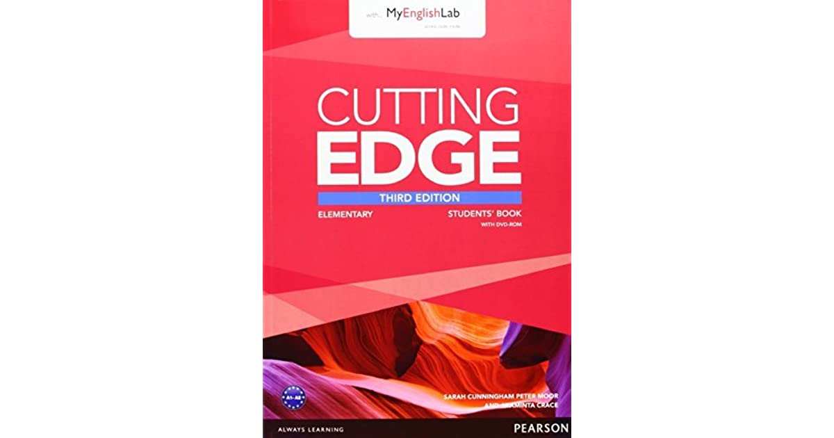 Cutting Edge 3rd Edition Elementary Students Book With Dvd And Myenglishlab Pack By Araminta Crace
