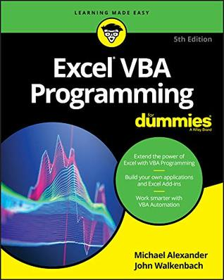Excel VBA Programming For Dummies (For Dummies (Computer/Tech))