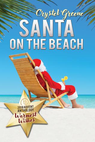 Santa on the Beach by Crystel Greene