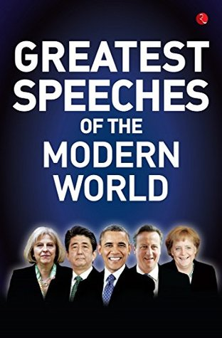 Greatest Speeches Of The Modern World By Nil