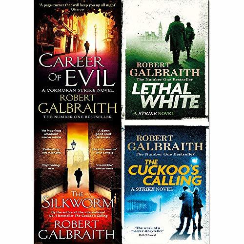 Cormoran strike series robert galbraith 4 books collection set by ...