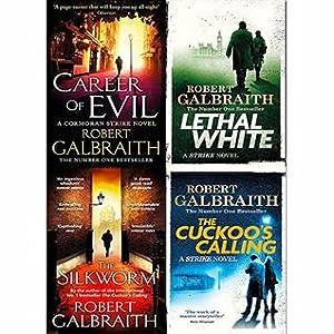 Cormoran strike series robert galbraith 4 books collection set (Cormoran Strike, #1-4)