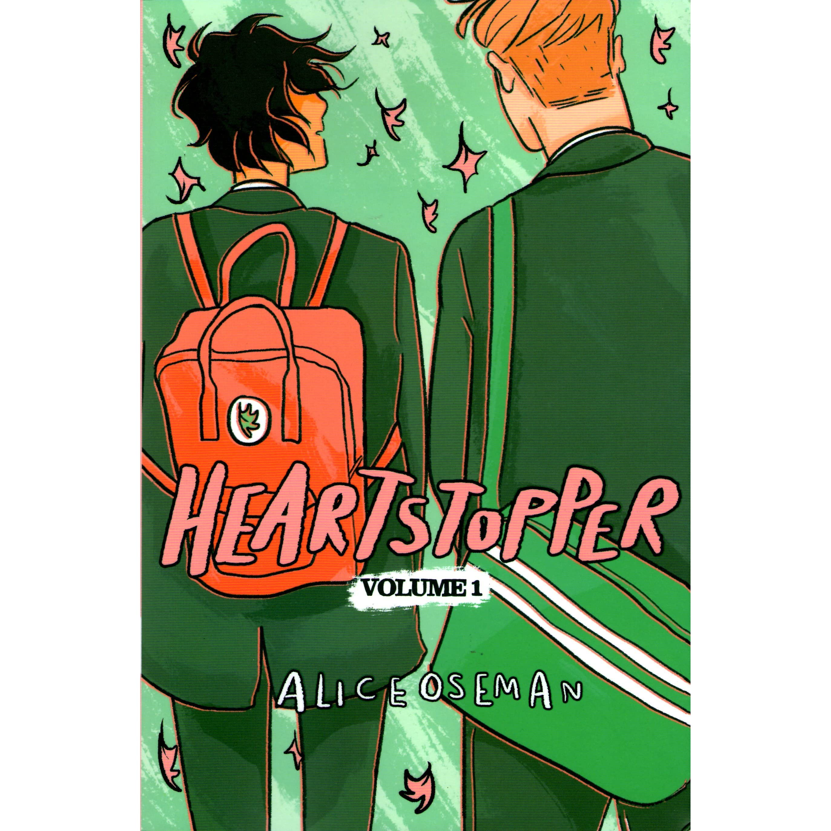 Image result for heartstoppers comic volumes