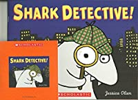 Shark Detective Paperback and Audio CD