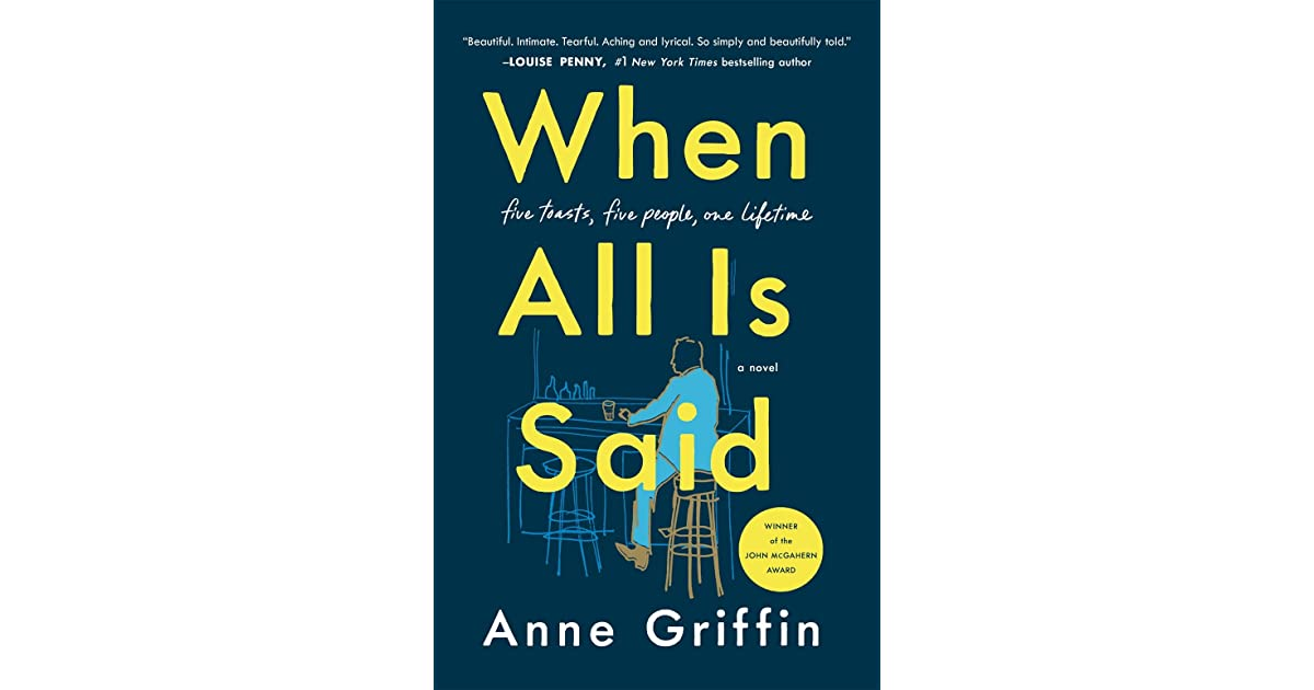 Image result for when all is said: a novel