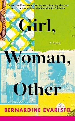Girl, Woman, Other cover by Bernardine Evaristo