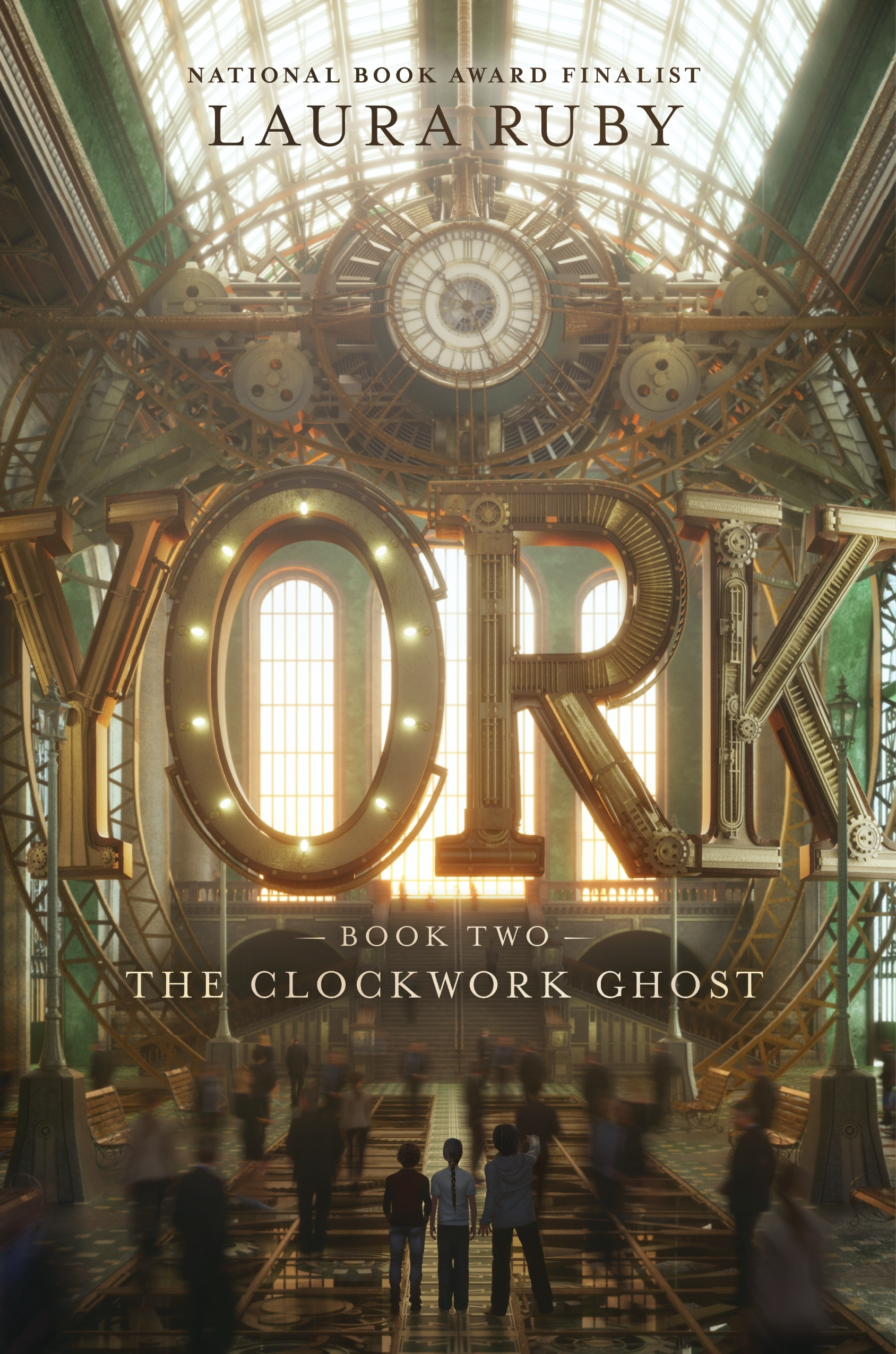 The Clockwork Ghost (York, #2)